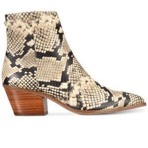 Aldo Leather Snakeskin boots